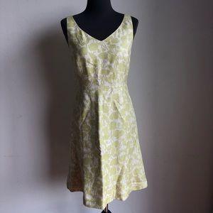 Ann Taylor sz 4P floral print 60's dress